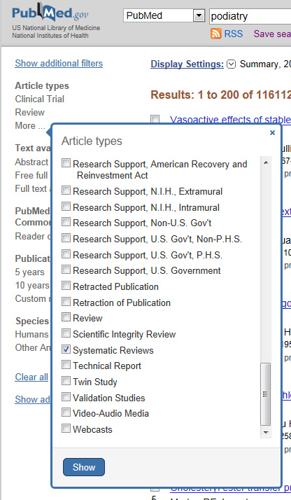 pubmed article types