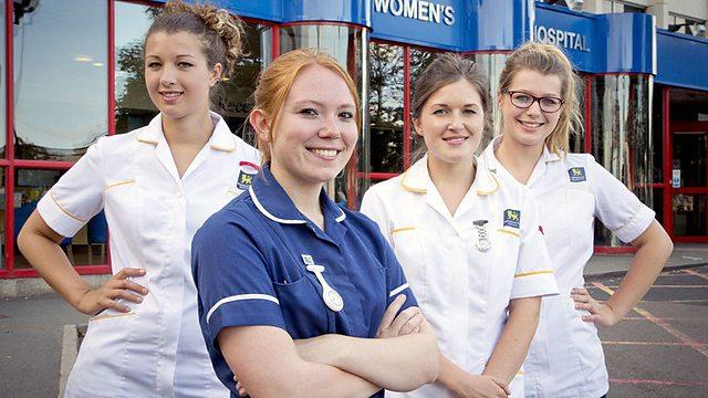 Nurses featured on a BBC programme
