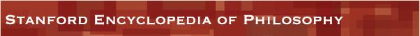 Stanford Encyclopedia of Philosophy logo