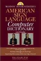 ASL Computer Dictionary