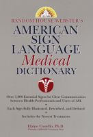 ASL Medical Dictionary