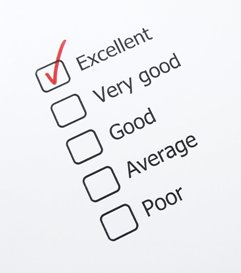 Evaluation checklist