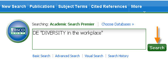 Subject Term Search