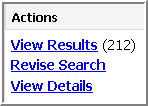 View or Revise Search Links