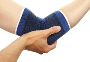 Elbow in brace