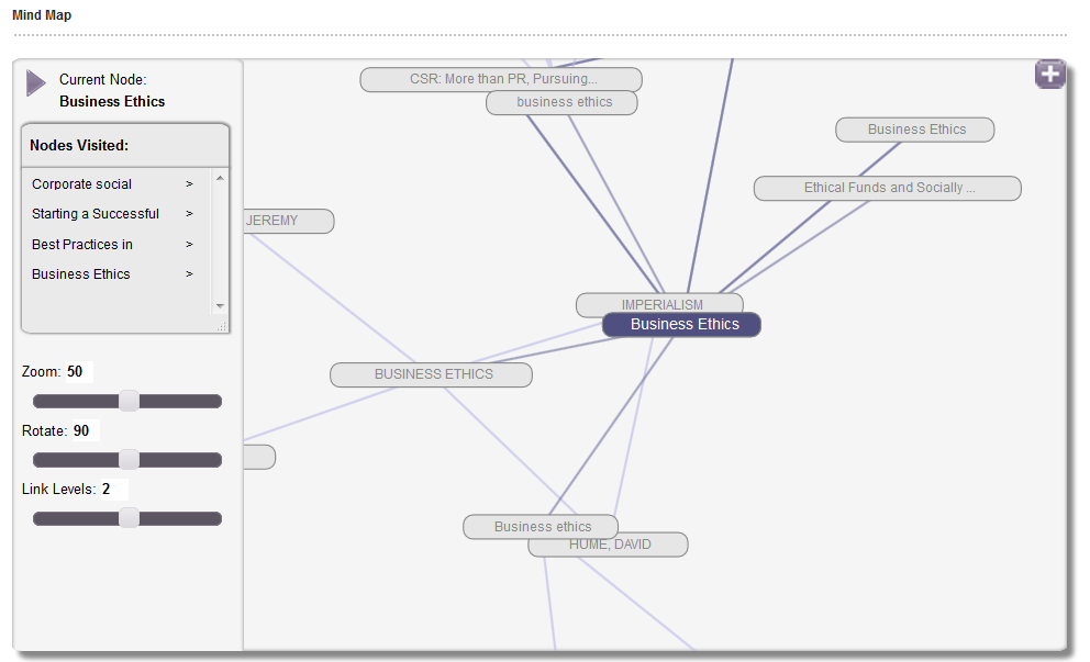Mind Map Screenshot