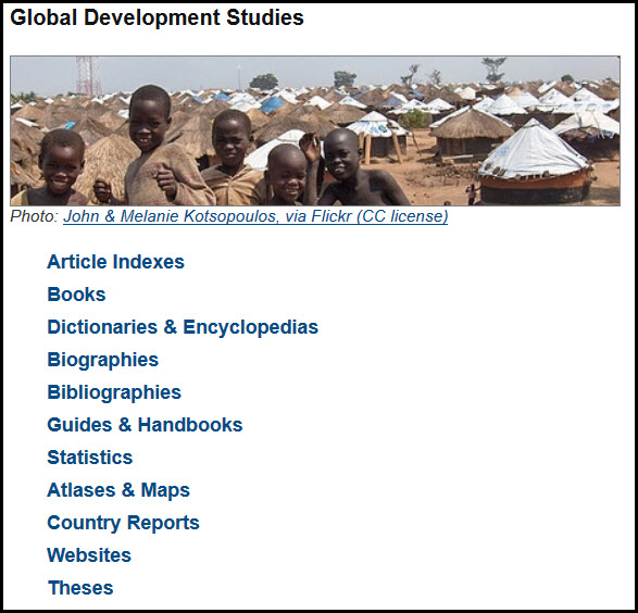 Global Development Studies