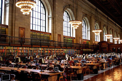 New York Public Library photo by Thomas Hawk