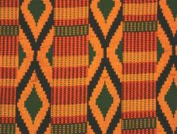 Image of Kente Cloth fabric
