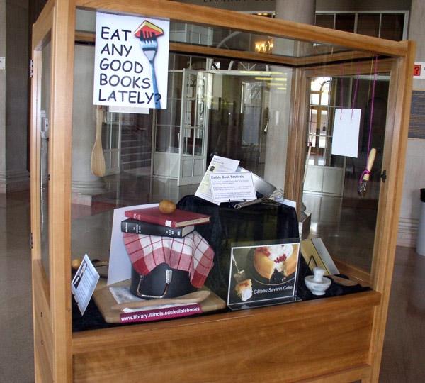 2011 Edible Book Display