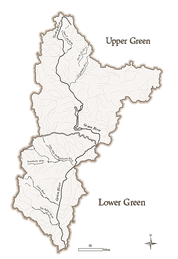 UPPER GREEN/LOWER GREEN RIVER BASIN