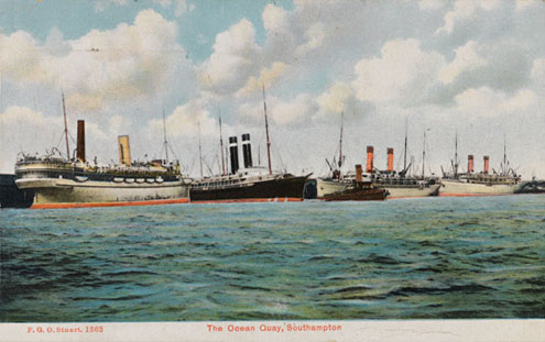 Southampton post card