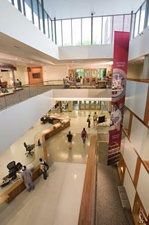 Ekstrom Library lobby