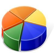 image of pie chart