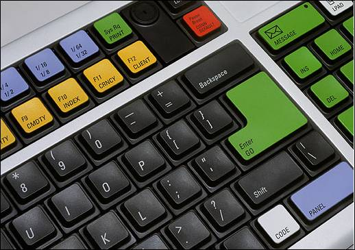 specialized keyboard for Bloomberg terminal