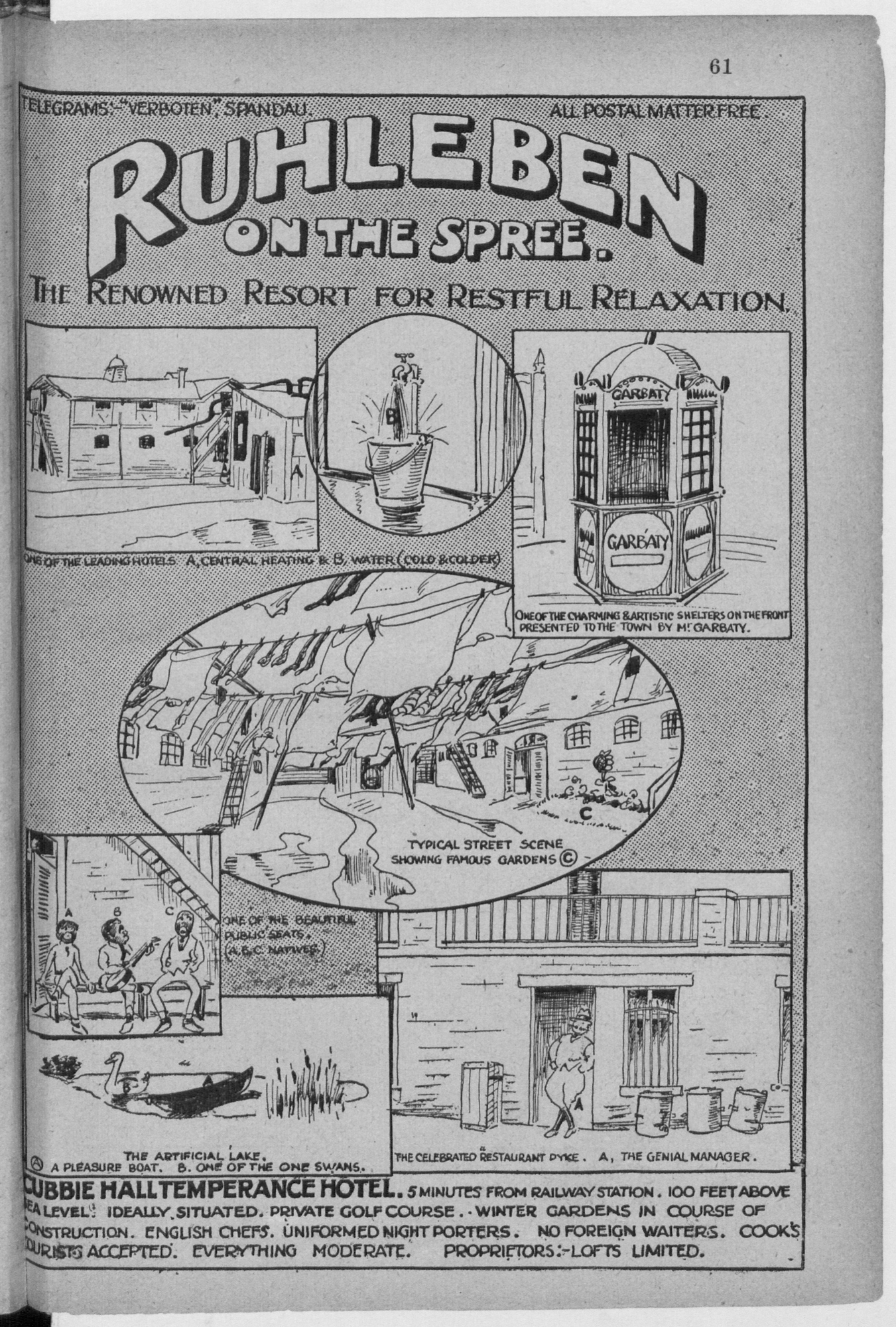 Image of the title page of Ruhleben Camp Magazine