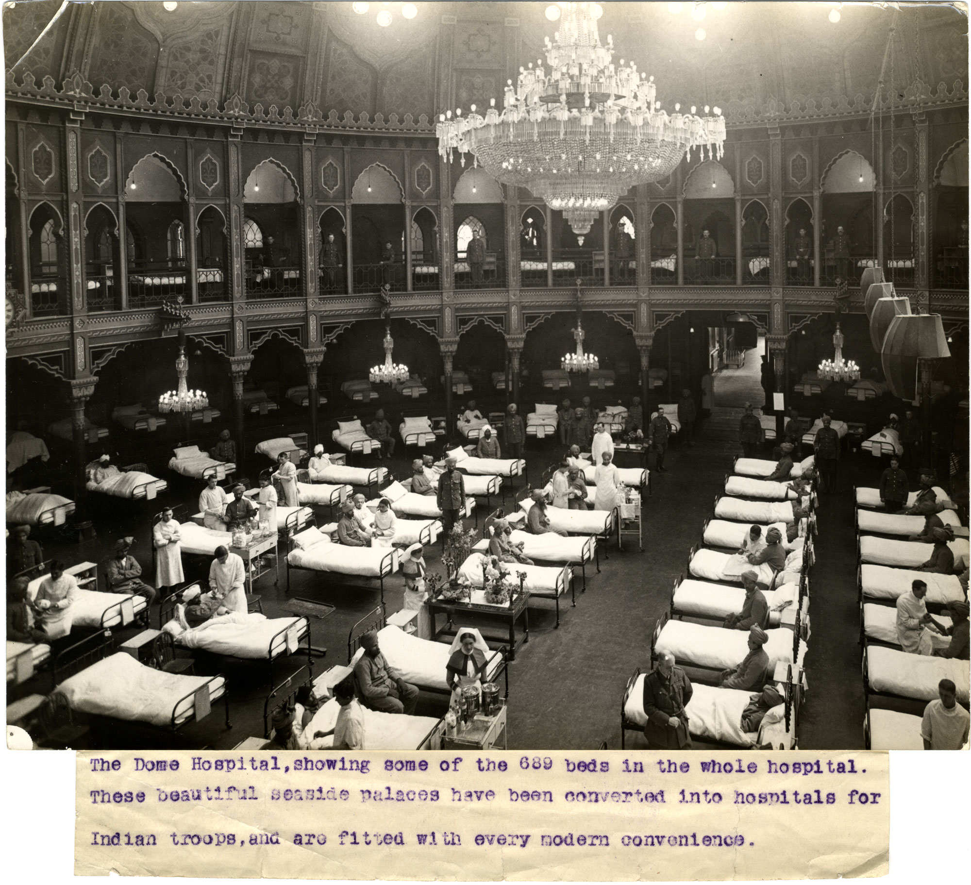 Photo of the Dome Hospital in Brighton
