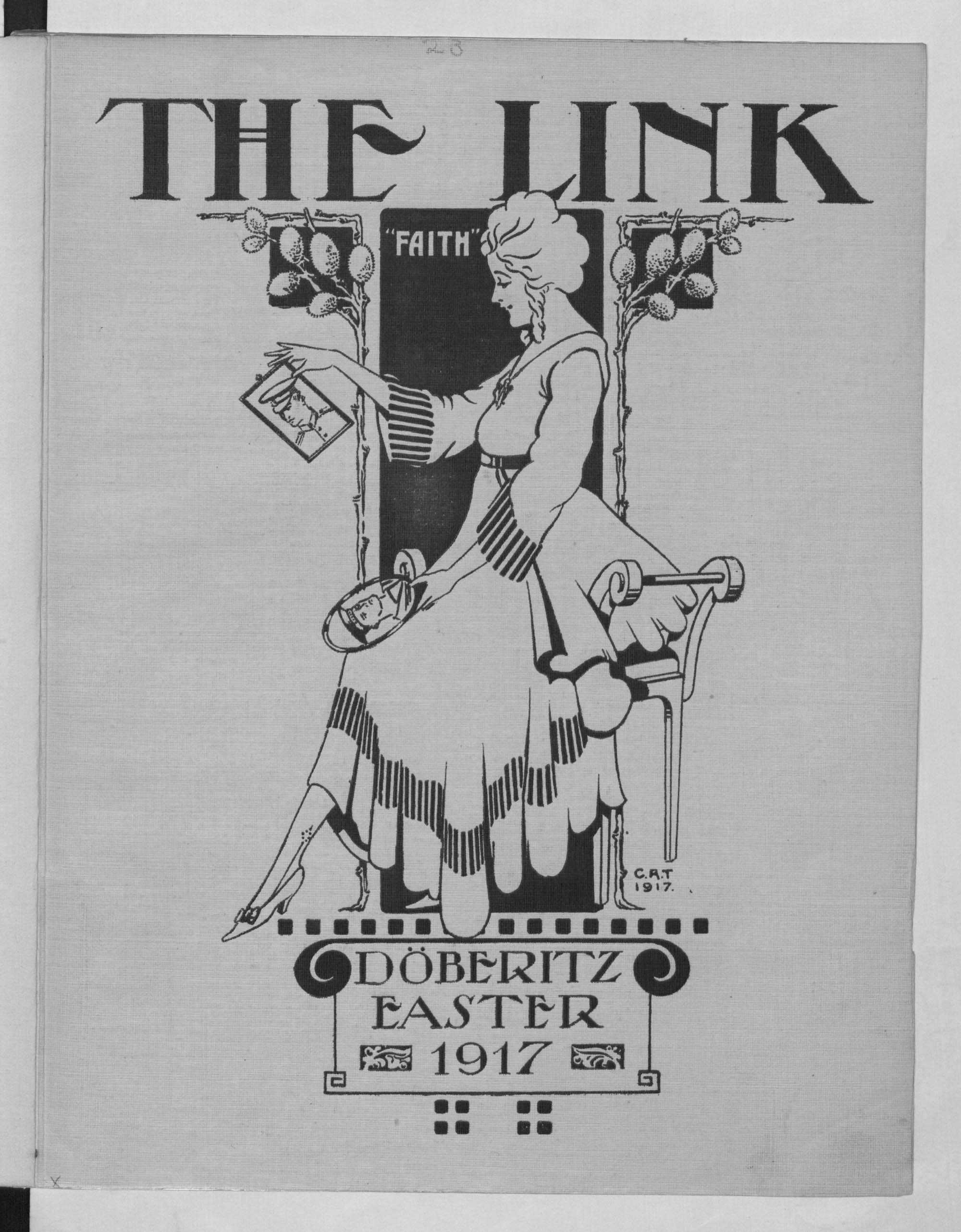 Title page of The Link, 1917