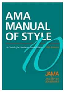 AMA style manual cover