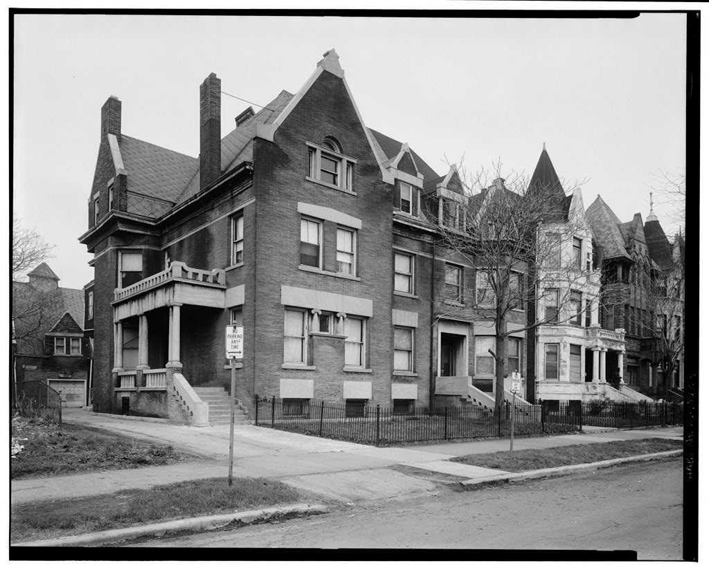 Image of Robert Abbott's home in Chicago