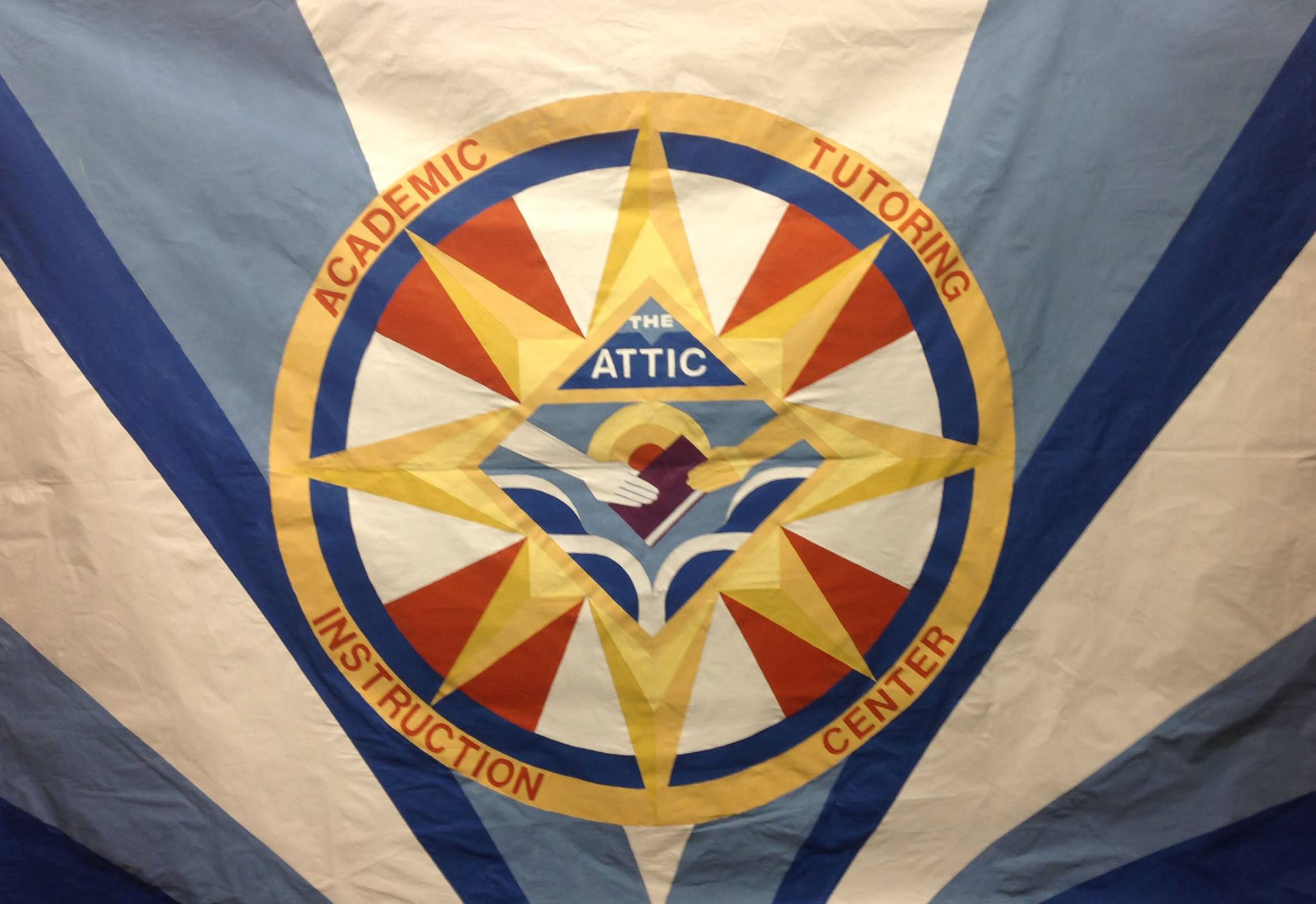 Photograph of the Attic banner