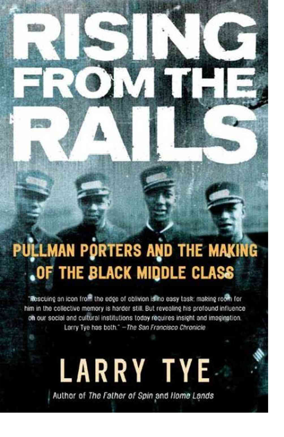 Book cover art for Rising from the Rails