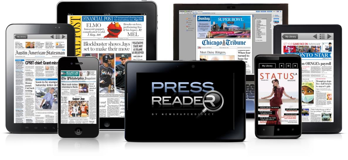 PressReader Homepage