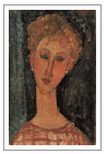 image of Modigliani painting