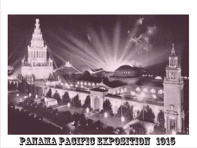 Pacific Panama Exposition 1915
