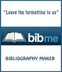 Bibme bibliography generator