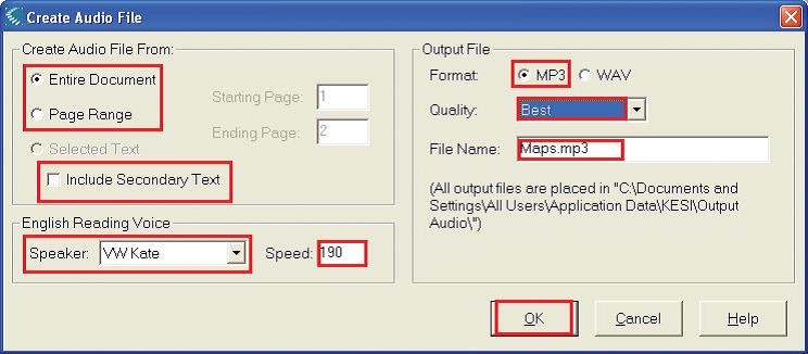 Audio to MP3