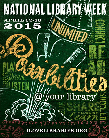 National Library Week Poster 2015