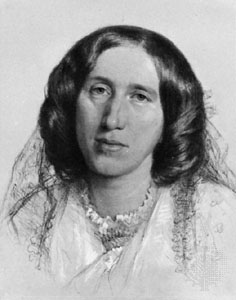 Image of British novelist George Eliot