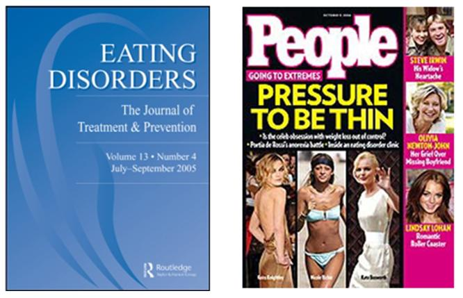 Eating Disorders cover and People Magazine cover