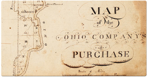 Map of the Ohio Company's Purchase