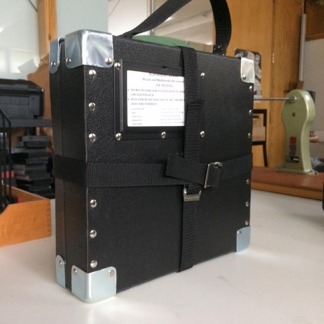 image of film reel circulation case