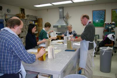 Disaster training workshop