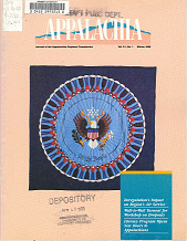 Vol. 21, No. 1 Winter 1988 Appalachia