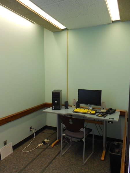 Adaptive Equipment Study Room