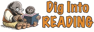 Kids Summer Reading logo Dig into Reading