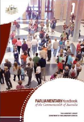 Parliamentary Handbook
