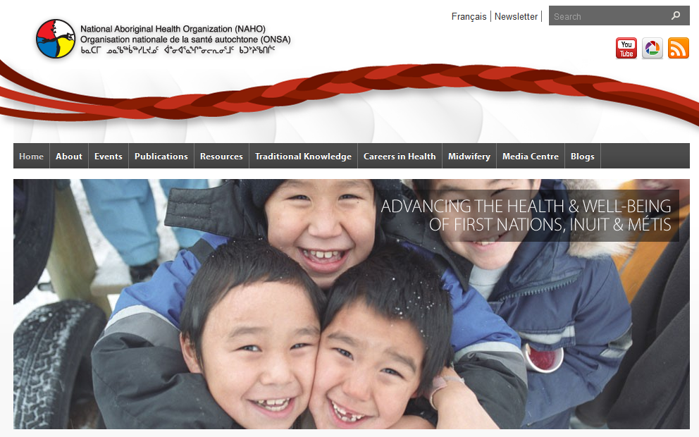 image of web page