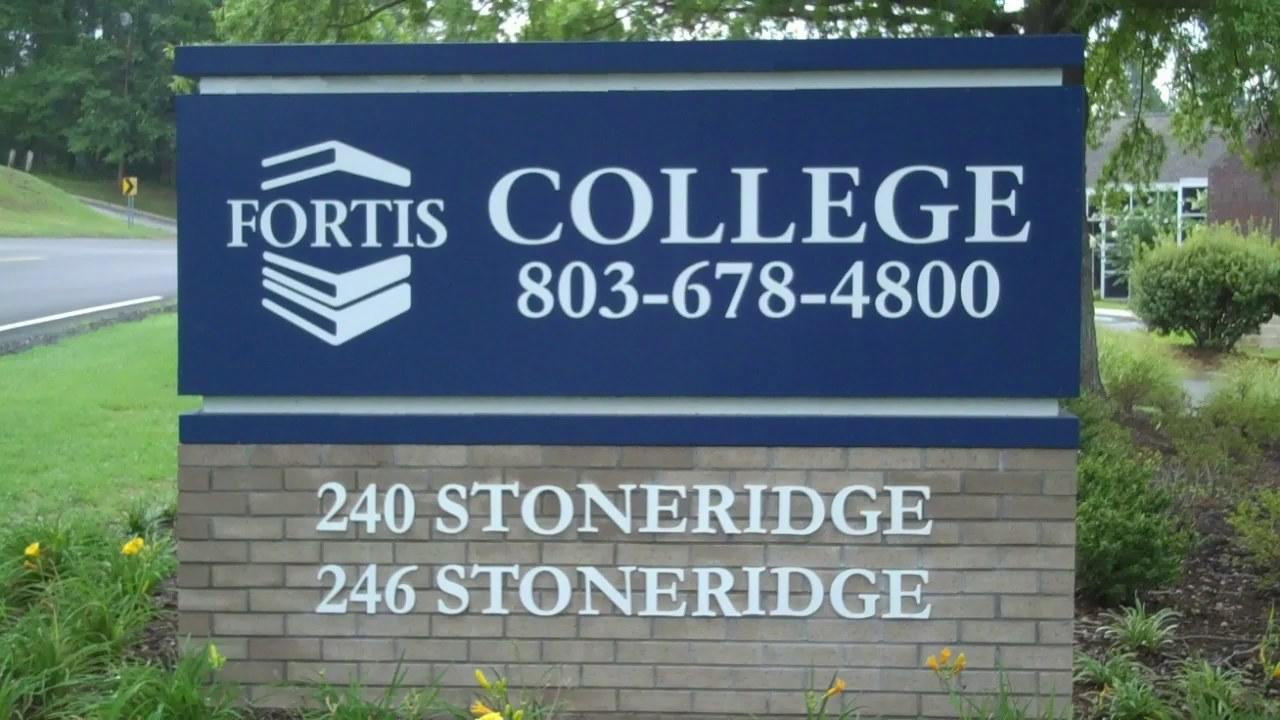 Fortis College Columbia Sign