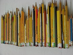 Pencils  Photo by  Abbey Hendrickson