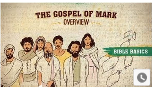 Gospel of Mark Part 1