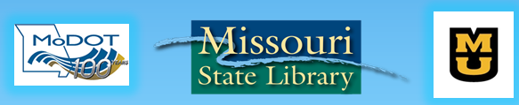 Combined icons from MoDOT, University of Missouri and Missouri State Library