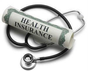 Stethoscope and insurance policy