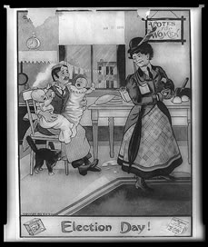 Suffrage Cartoon