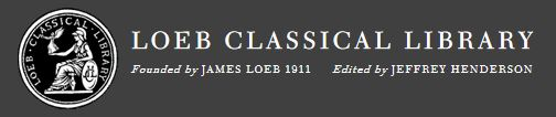 image and link to Loeb Classical Library