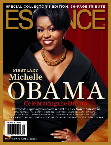 Michelle Obama on the cover of Essence